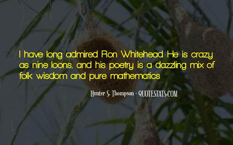 Whitehead's Quotes #518091