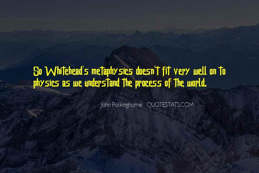 Whitehead's Quotes #683919