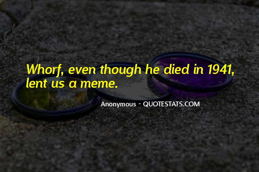 Whorf Quotes #1640471