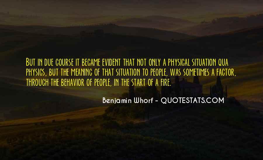Whorf Quotes #172263
