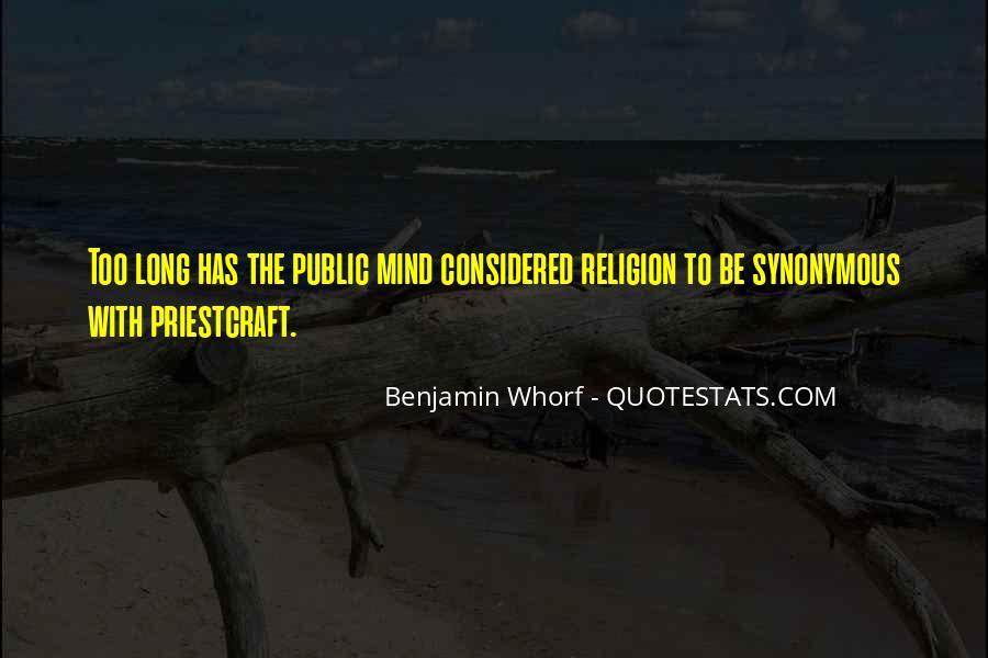 Whorf Quotes #77959