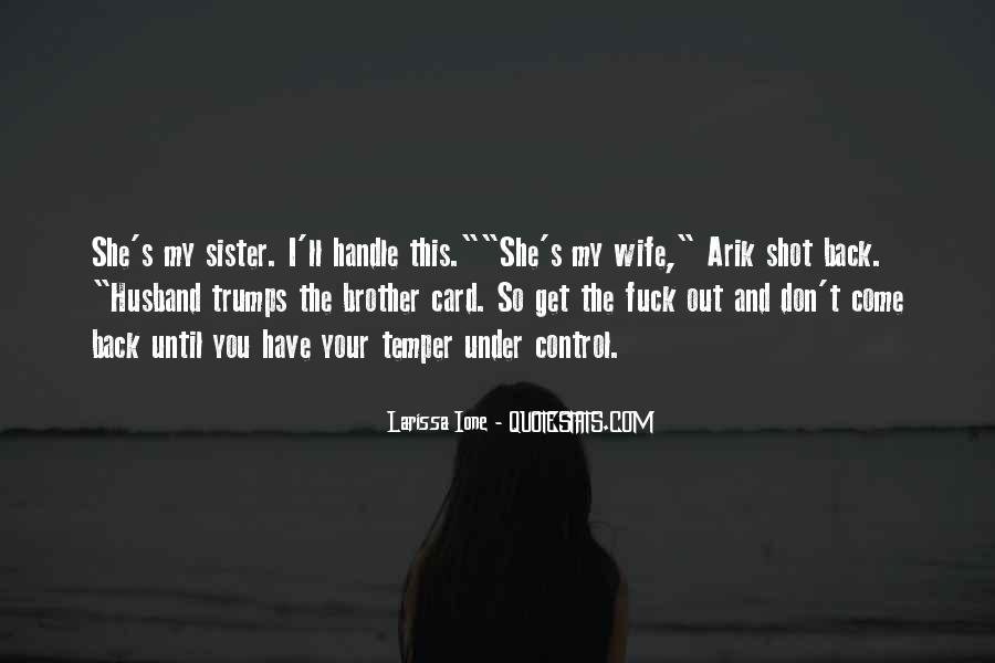 Wife'll Quotes #102992