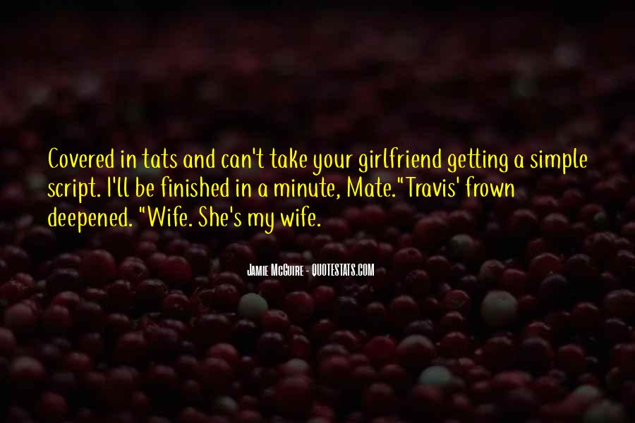 Wife'll Quotes #268957