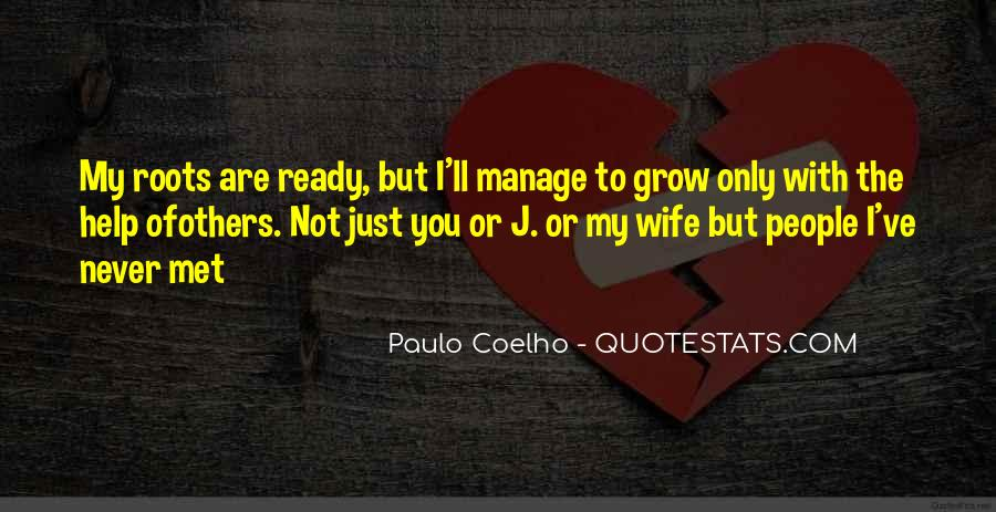 Wife'll Quotes #279355