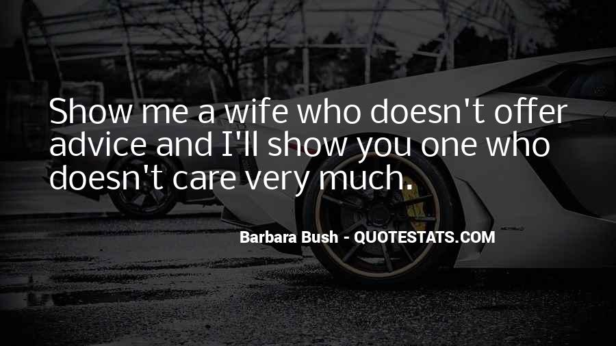 Wife'll Quotes #346868