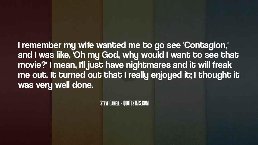 Wife'll Quotes #65956
