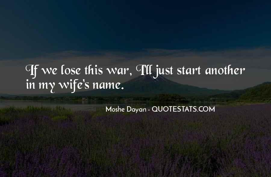 Wife'll Quotes #796870