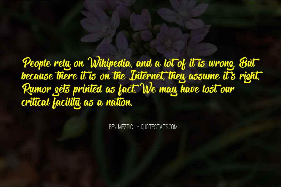 Wikipedia's Quotes #416618