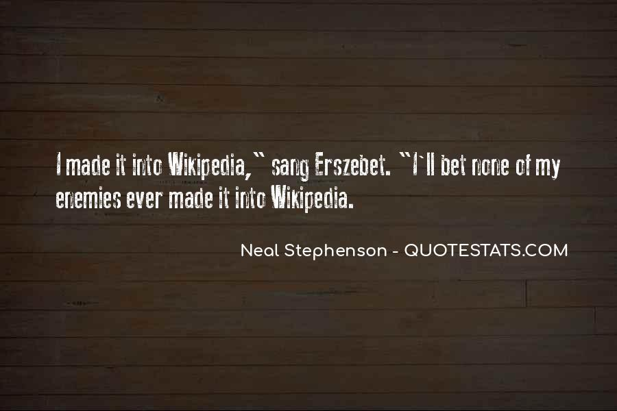 Wikipedia's Quotes #422315