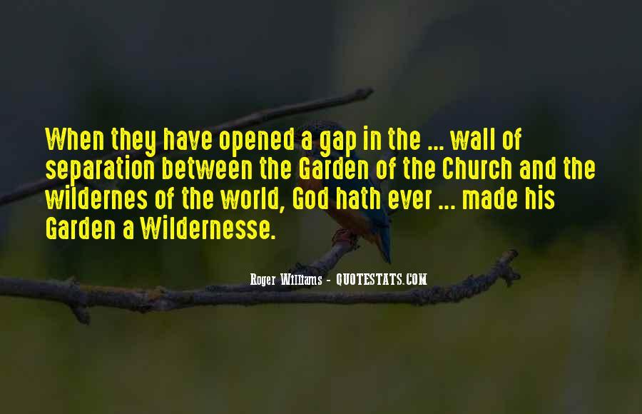 Wildernesse Quotes #153088