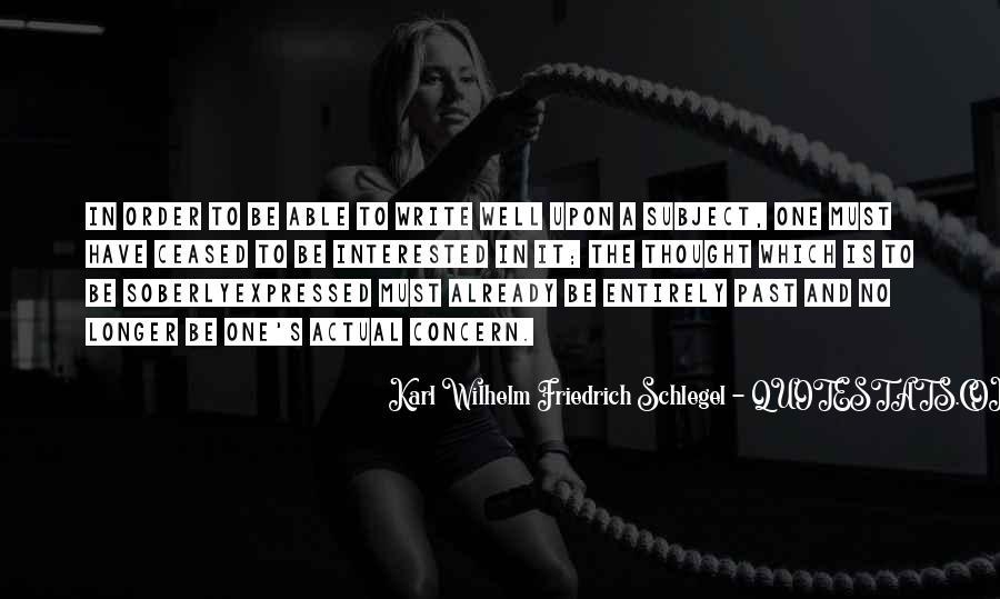 Wilhelm's Quotes #1039798