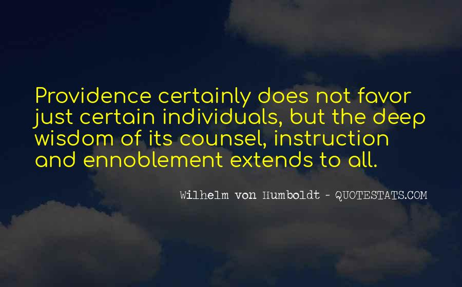 Wilhelm's Quotes #120495