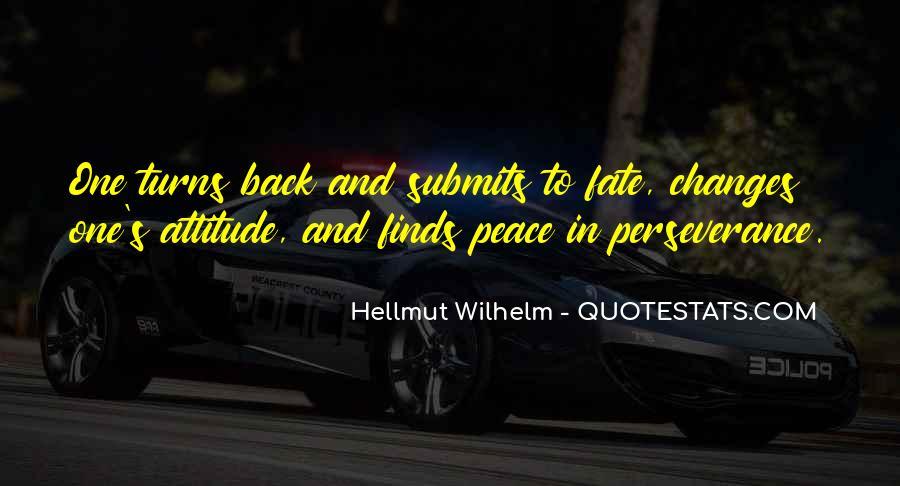 Wilhelm's Quotes #1229451