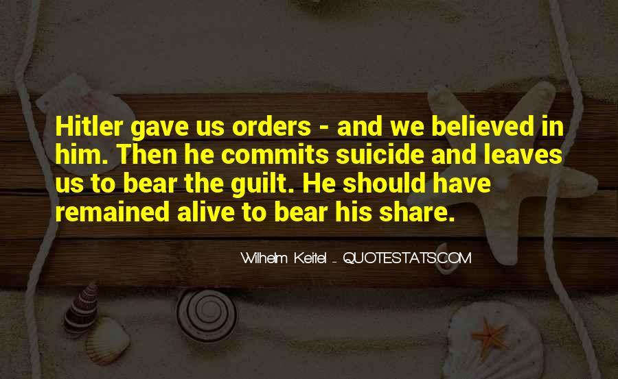 Wilhelm's Quotes #12381