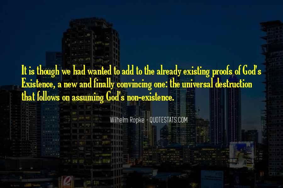 Wilhelm's Quotes #1392657