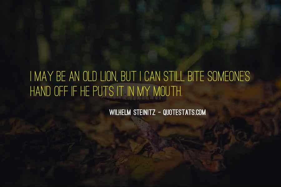 Wilhelm's Quotes #15687