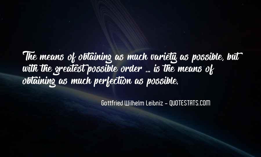 Wilhelm's Quotes #18434