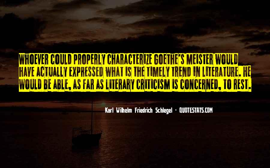 Wilhelm's Quotes #284853