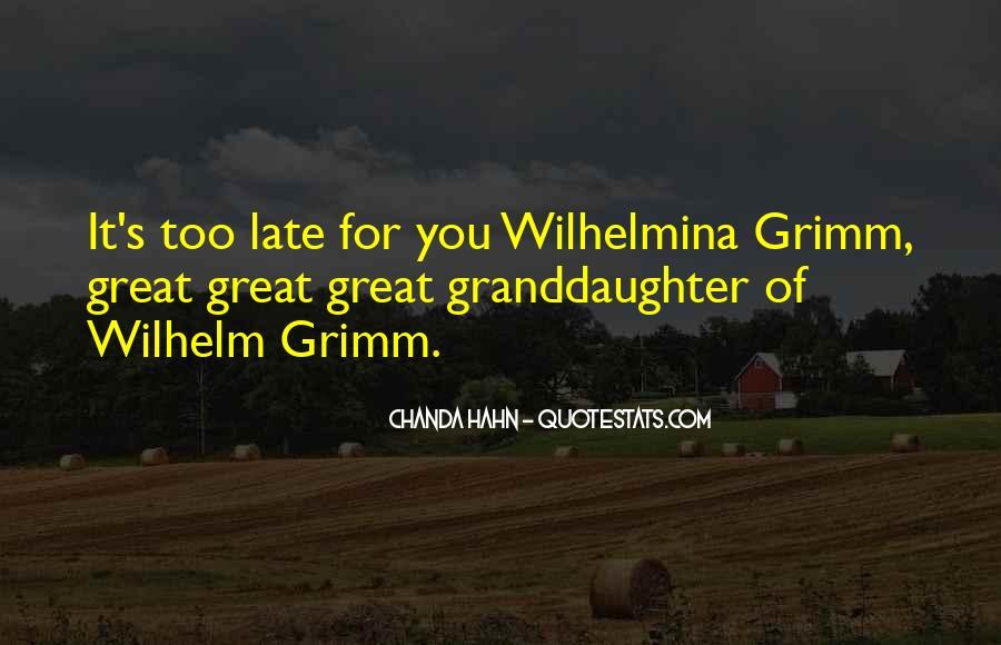 Wilhelm's Quotes #879317