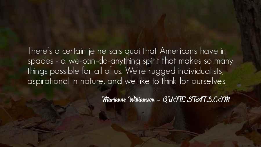 Williamson's Quotes #102774