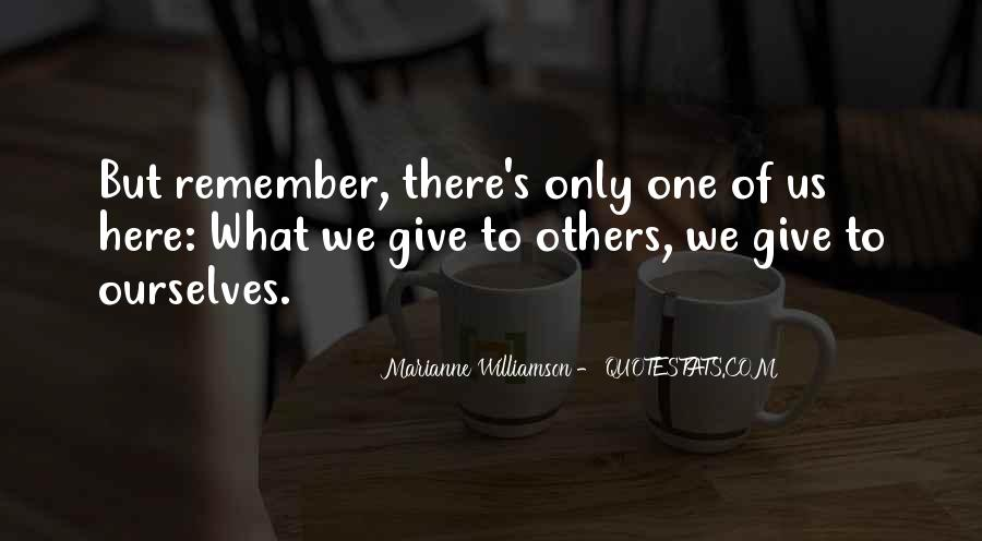 Williamson's Quotes #442780