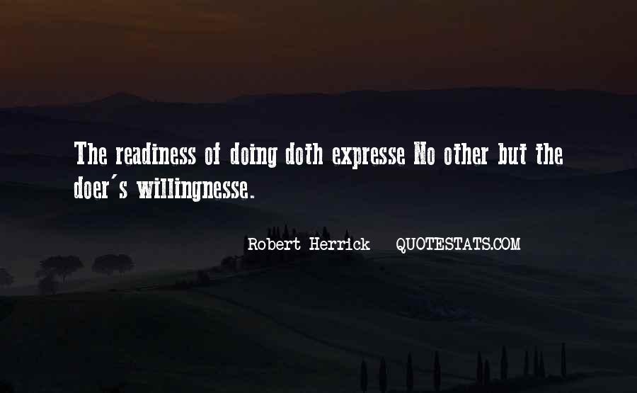 Willingnesse Quotes #1839183