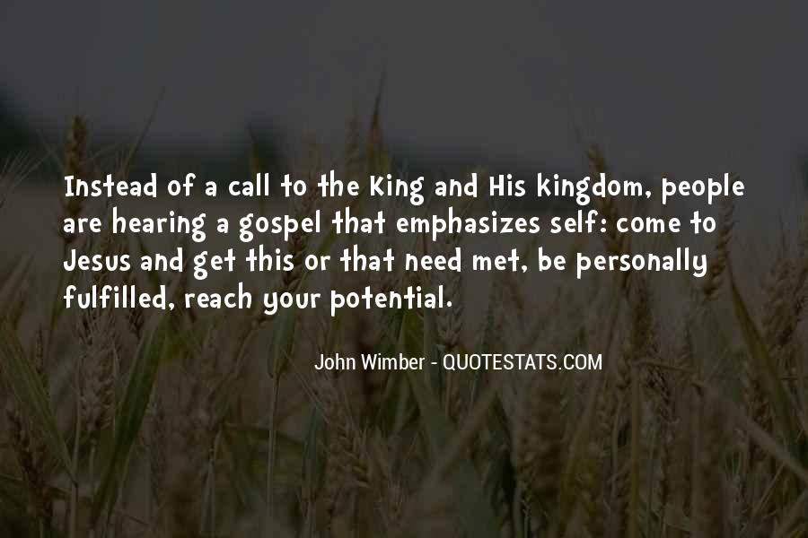 Wimber's Quotes #1080076