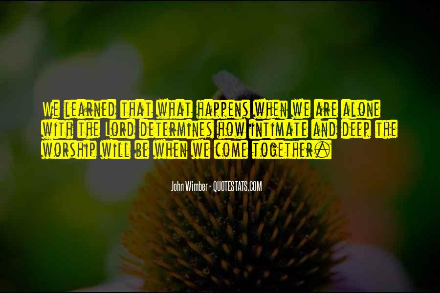 Wimber's Quotes #1135983