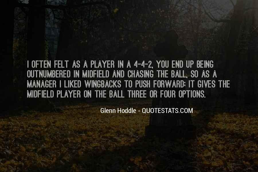 Wingbacks Quotes #441810