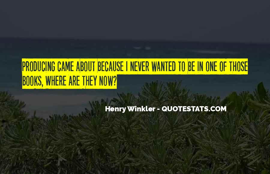 Winkler Quotes #32410