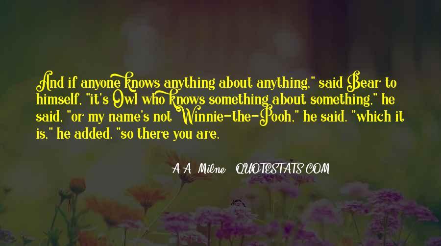 Winnie's Quotes #1535934