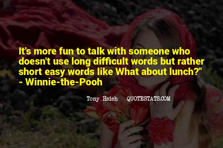 Winnie's Quotes #7210