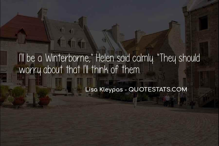 Winterborne's Quotes #282678