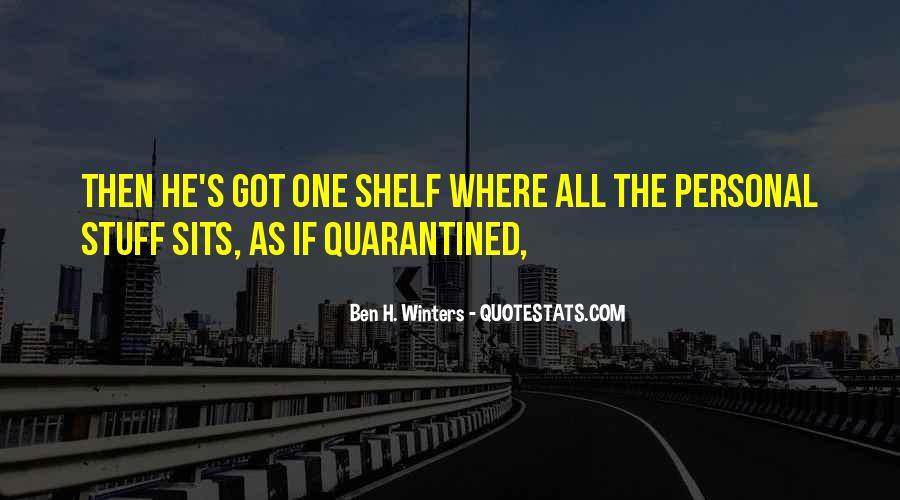 Winters's Quotes #1284972