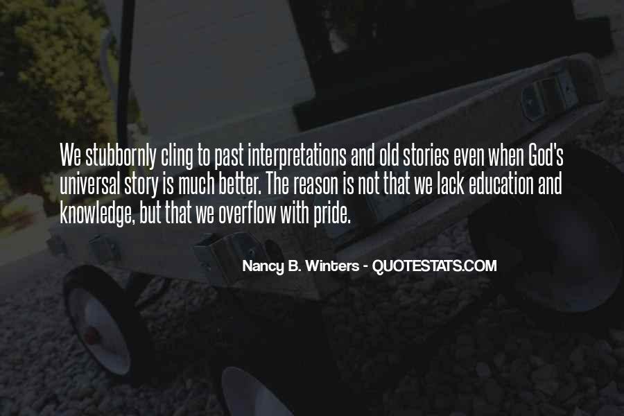 Winters's Quotes #1727945