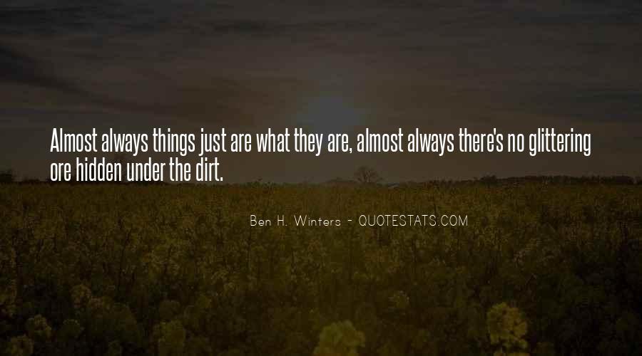 Winters's Quotes #1746171