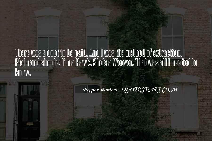 Winters's Quotes #331415