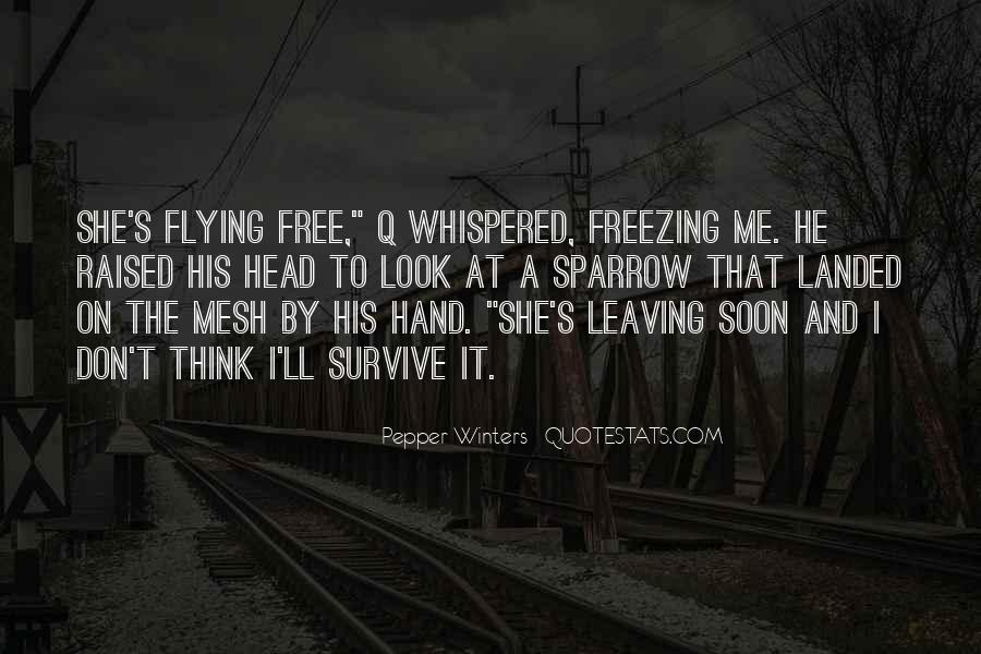 Winters's Quotes #795515