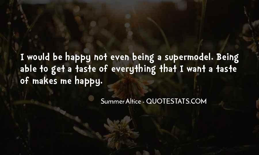 Quotes About Not Being Able To Be Happy #1835874