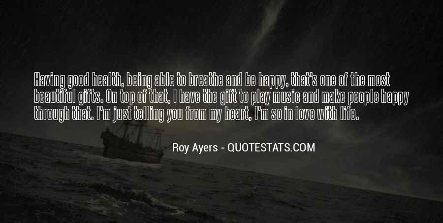 Quotes About Not Being Able To Be Happy #212390