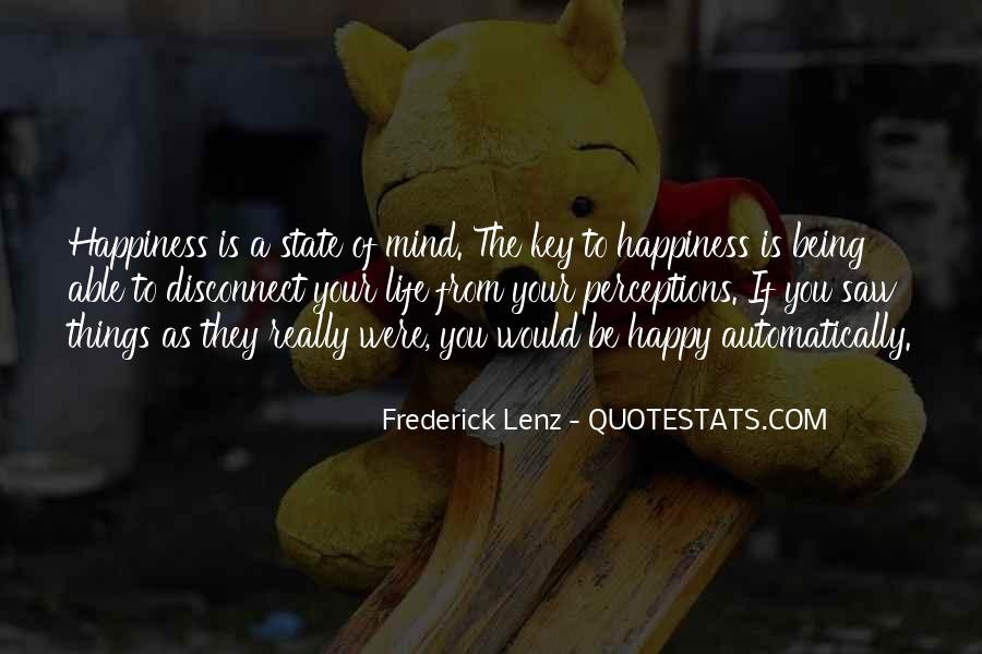 Quotes About Not Being Able To Be Happy #777760