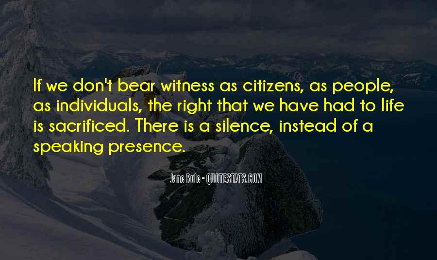 Witness'd Quotes #21887