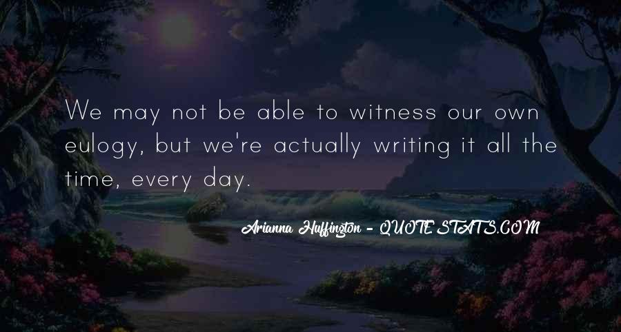 Witness'd Quotes #4026