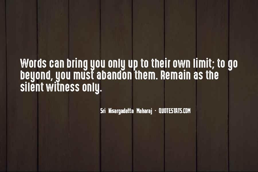 Witness'd Quotes #41336