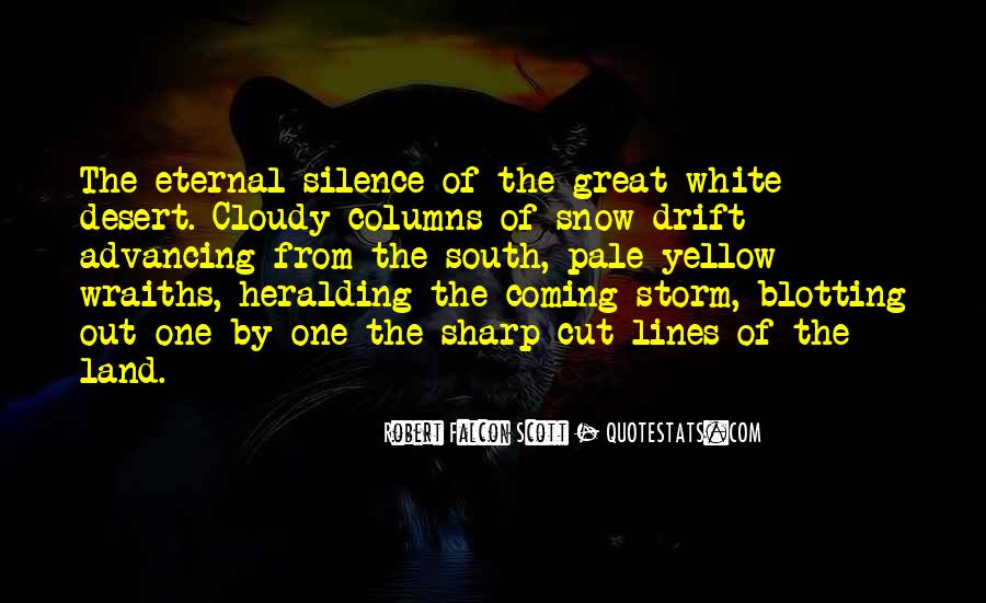 Quotes About Yellow Snow #431413