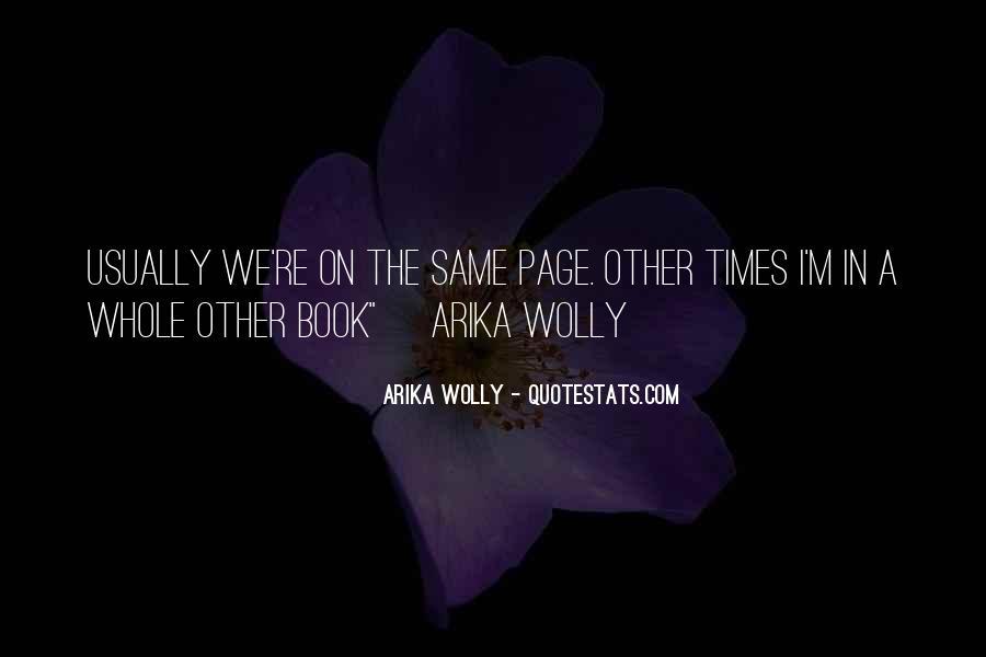 Wolly Quotes #1807483