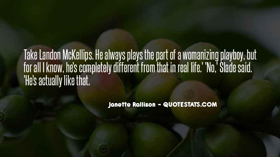 Womanizing Quotes #1342592