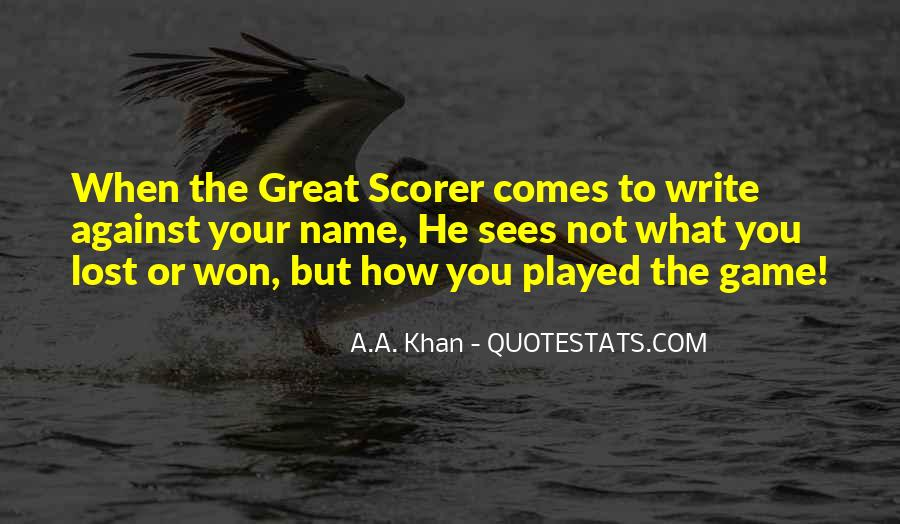 Won'ts Quotes #4987