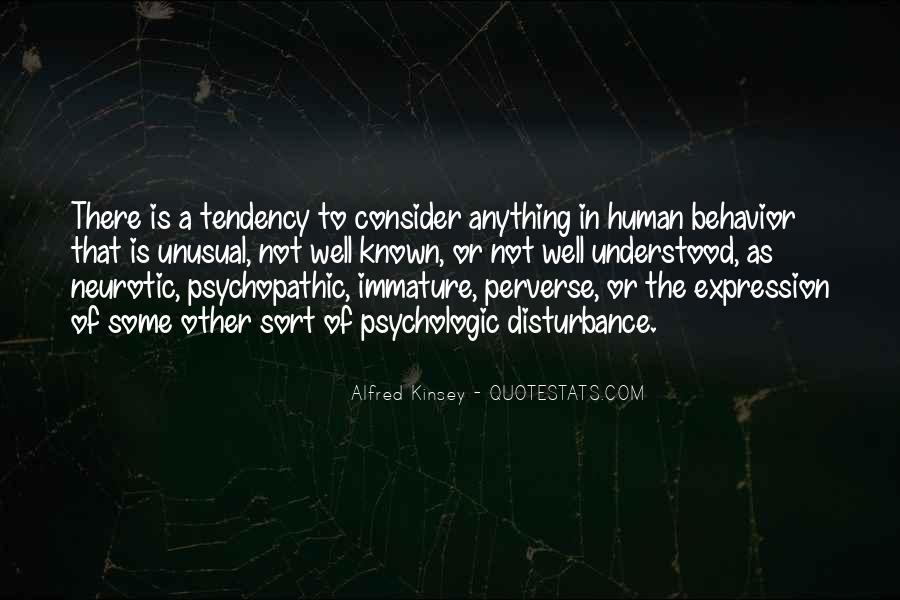 Quotes About Psychopathic #1445056