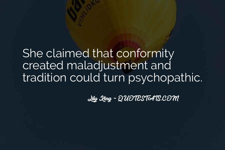 Quotes About Psychopathic #369806